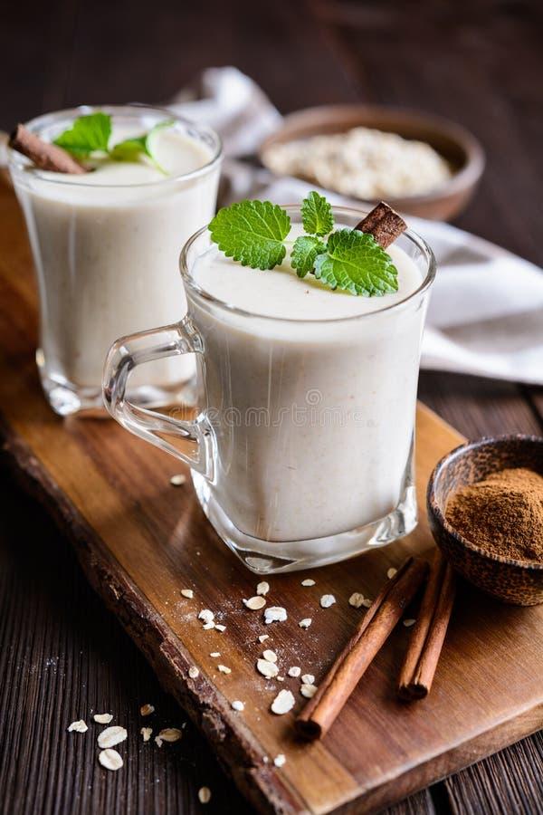 Avena Colombiana - tradycyjny oatmeal napój obraz stock