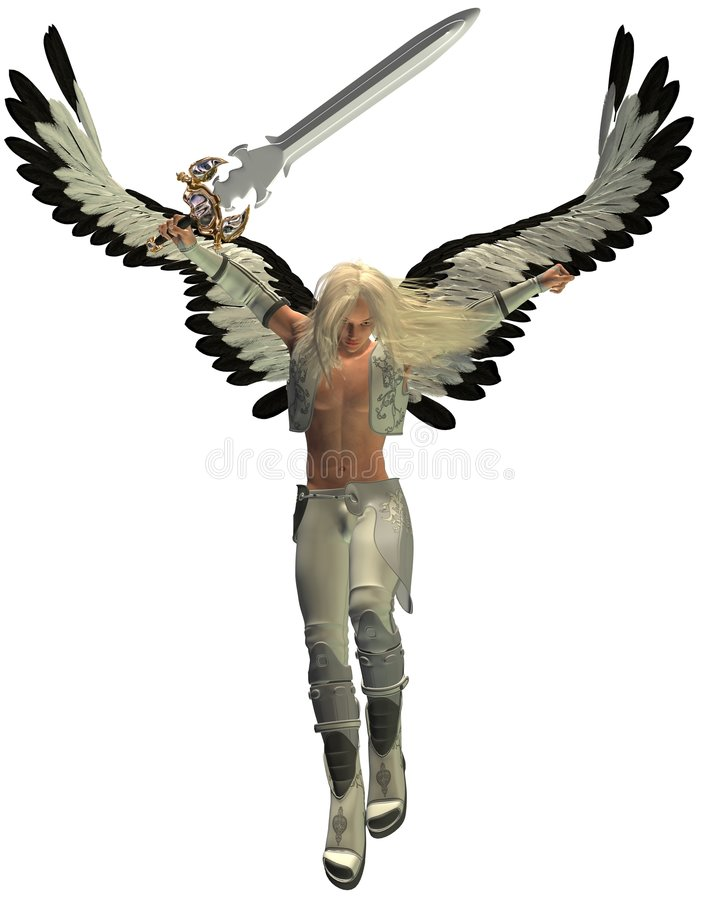 Avenging Angel stock illustration