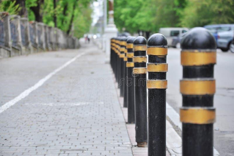 Avenida cerca del camino foto de archivo libre de regalías