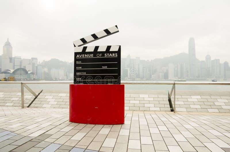 Avenida de estrellas fotografía de archivo