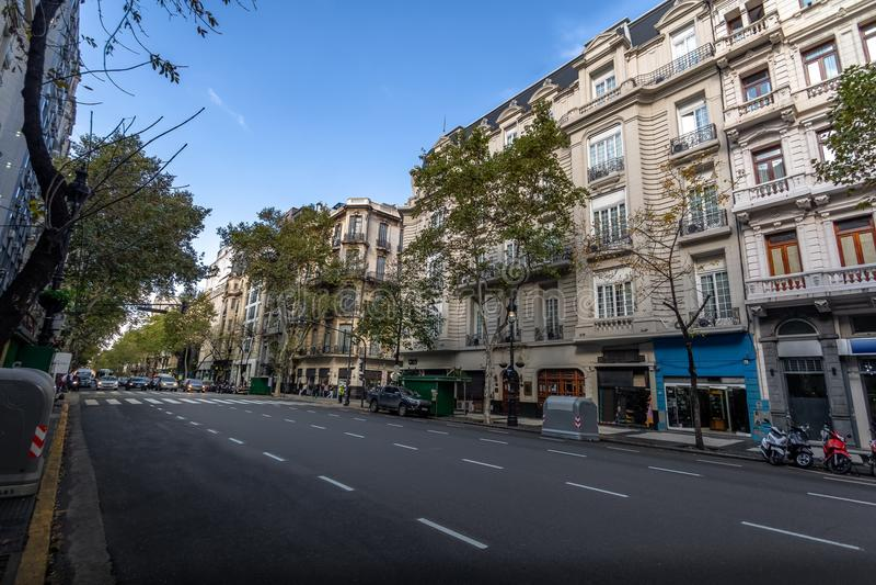 Avenida de Mayo - Buenos Aires, Argentina. Avenida de Mayo in Buenos Aires, Argentina stock image