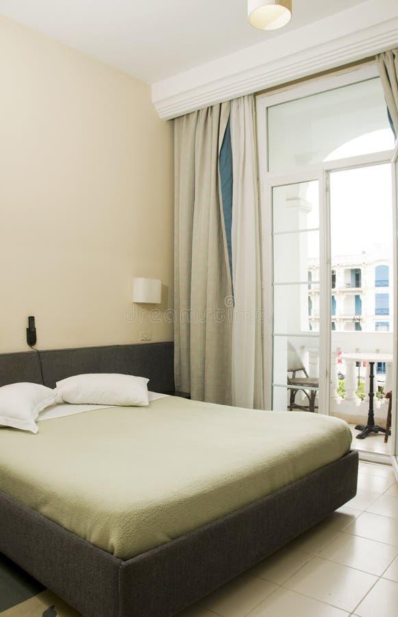 Avenida Habib Bourguiba Tunísia África do hotel fotos de stock royalty free