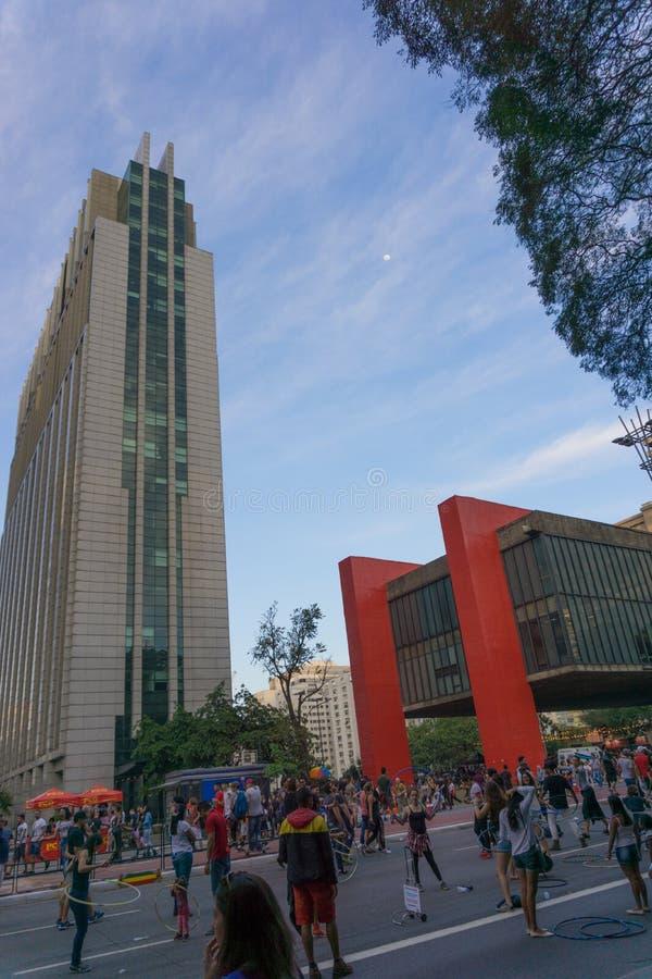 Avenida Paulista images stock