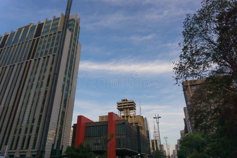 Avenida Paulista photo libre de droits