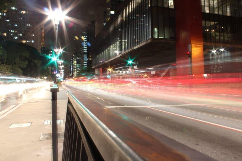 Avenida Paulista fotografia de stock royalty free