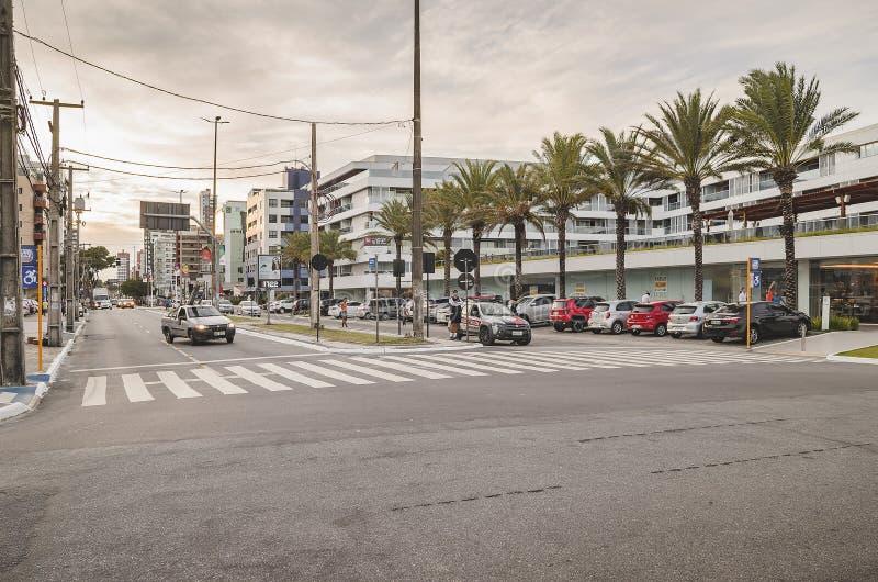 Avenida Presidente Epitacio Pessoa, Joao Pessoa arkivbild
