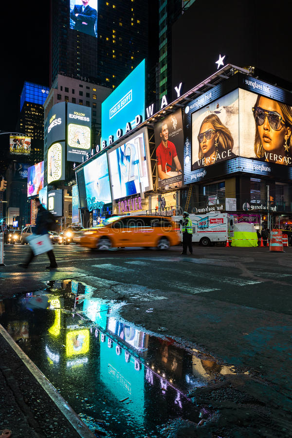 Avenidas de Broadway, New York fotografia de stock royalty free