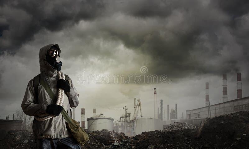 Avenir apocalyptique de courrier photographie stock libre de droits
