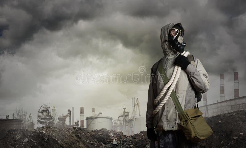 Avenir apocalyptique de courrier photo libre de droits
