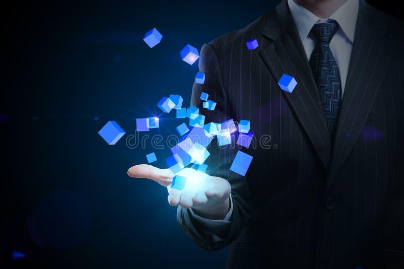 Avenir et concept de technologie image stock