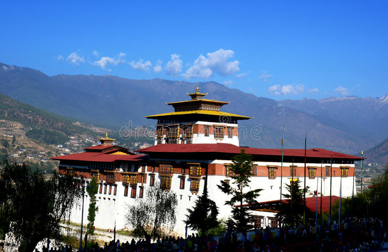 Aventura de Bhután imágenes de archivo libres de regalías