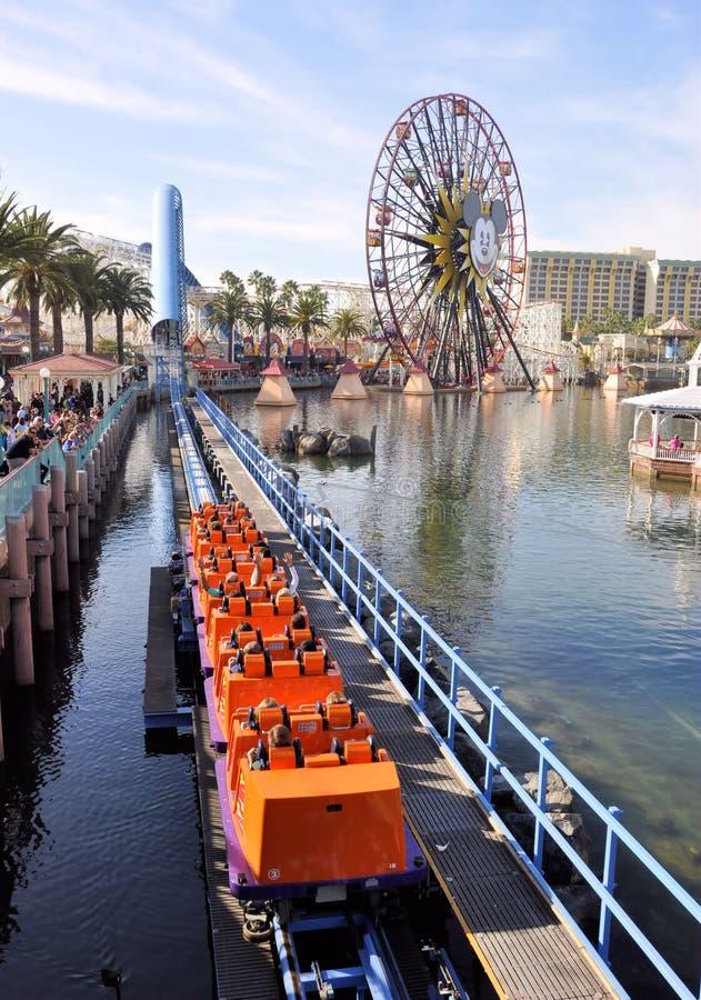 Aventura de Disney California imágenes de archivo libres de regalías