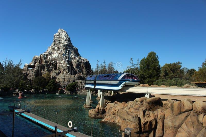 Aventura de Disneyland foto de archivo