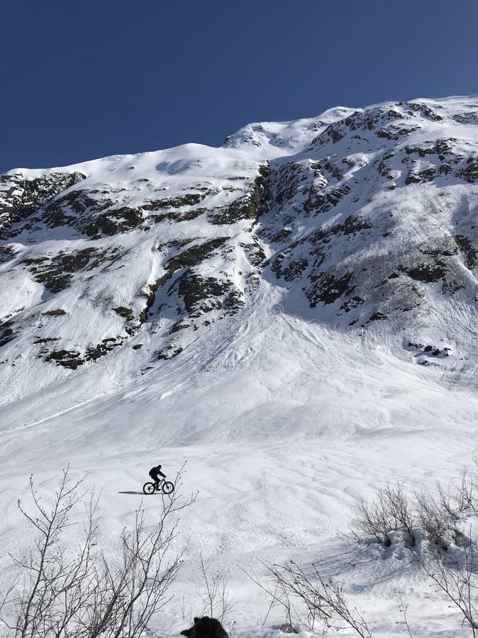 Aventura de la montaña de Alaska imagen de archivo libre de regalías
