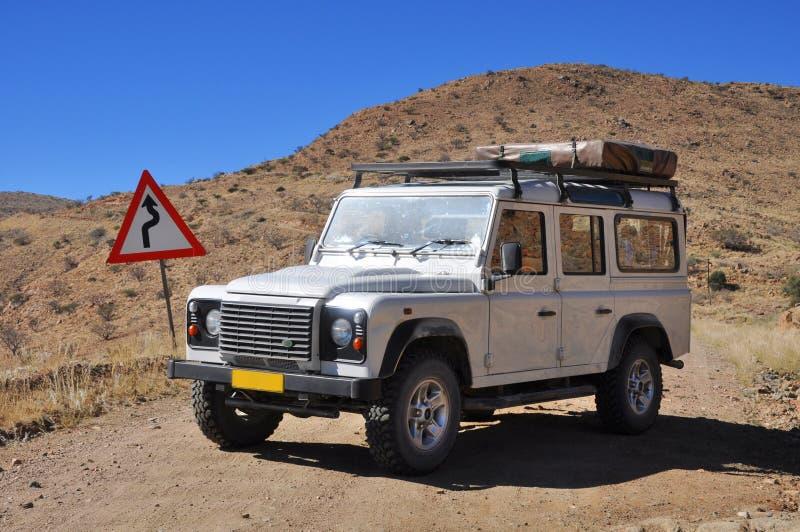 Aventura del jeep foto de archivo libre de regalías