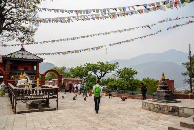 Aventura del Nepali foto de archivo libre de regalías