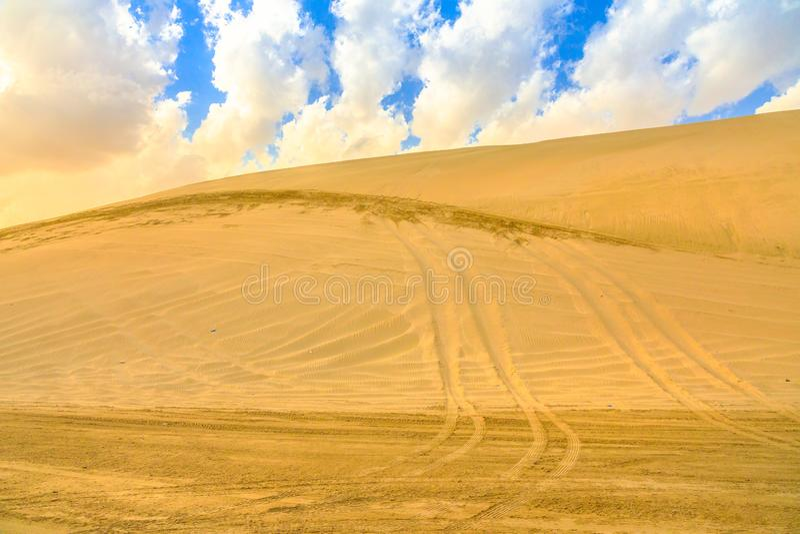Aventura del safari del desierto fotografía de archivo