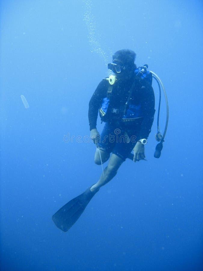 Aventura do mergulho autónomo imagem de stock royalty free
