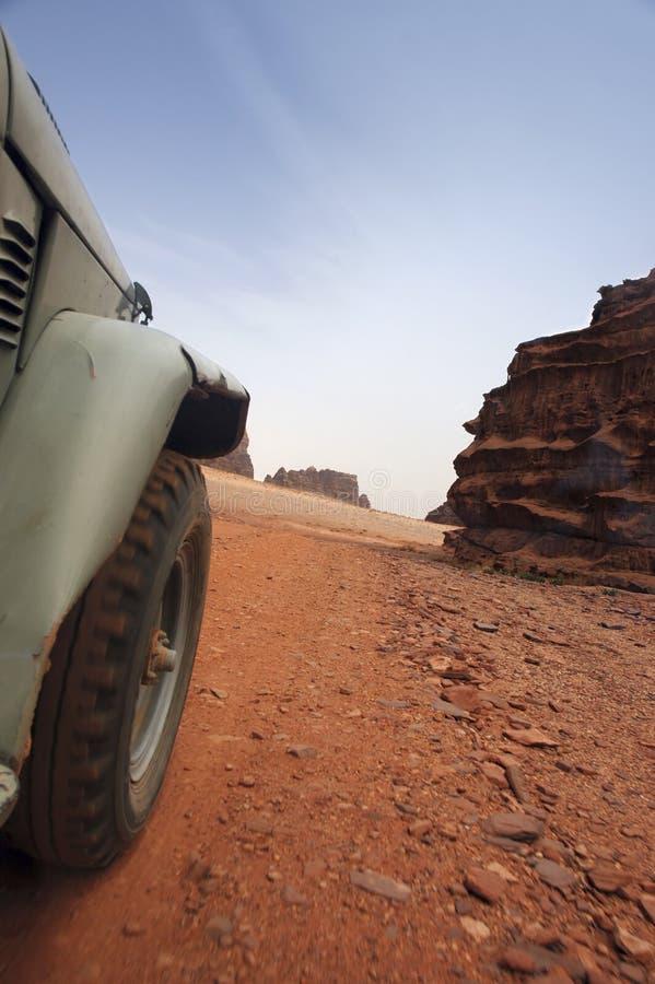 Aventura no deserto foto de stock