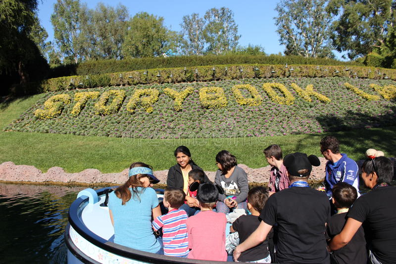 Aventure de Disneyland photographie stock libre de droits