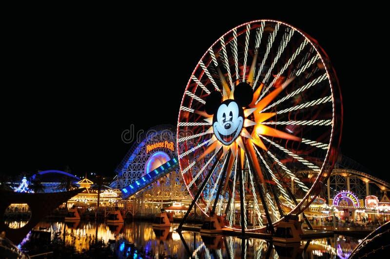 Aventure de Disneyland la Californie images libres de droits