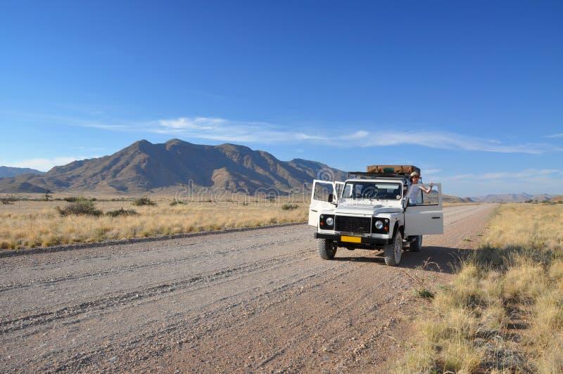 Aventure de jeep photographie stock libre de droits