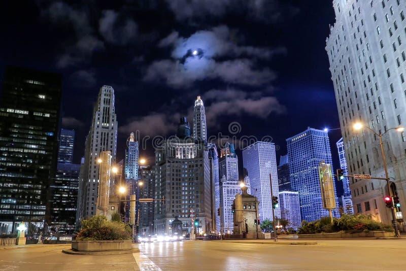 avenue chicago michigan στοκ φωτογραφίες με δικαίωμα ελεύθερης χρήσης