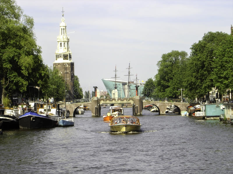 Avenue d'Amsterdam image stock