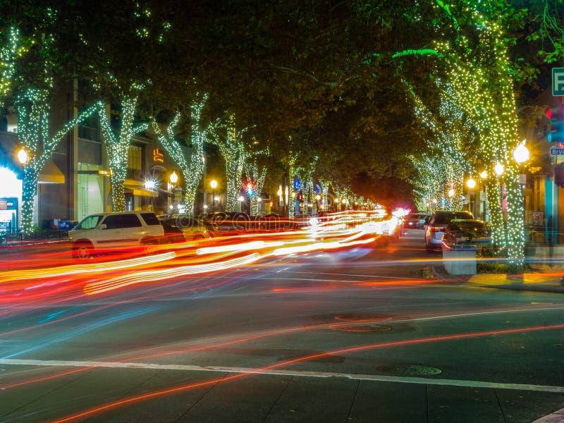 Avenue d'université images stock