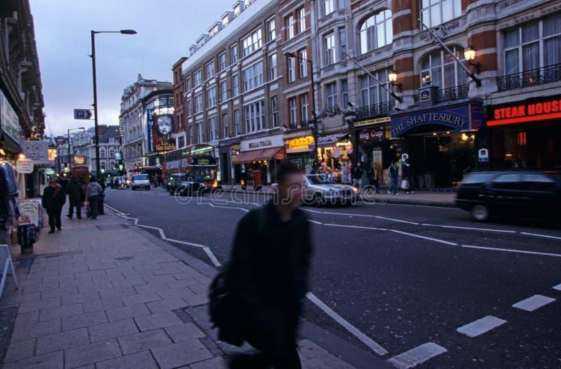Avenue de Shaftesbury, Londres photos stock