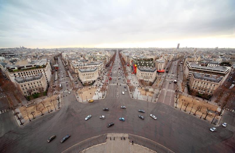 Download Avenue Marceau, Avenue Des Champs-Elysees Stock Photo - Image of pedestrian, boulevard: 19153272