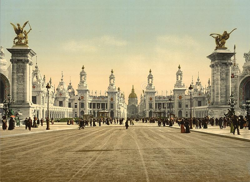 Avenue Nicholas II,Russia royalty free stock images