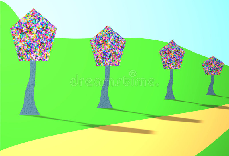 Download Aveny stock illustrationer. Illustration av leaves, dekorera - 283843