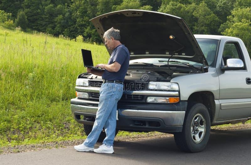Avería del vehículo fotos de archivo libres de regalías
