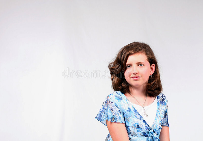 Average Girl royalty free stock images