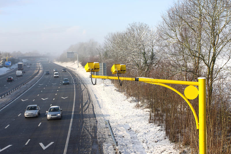 Average Speed Cameras In UK Royalty Free Stock Images
