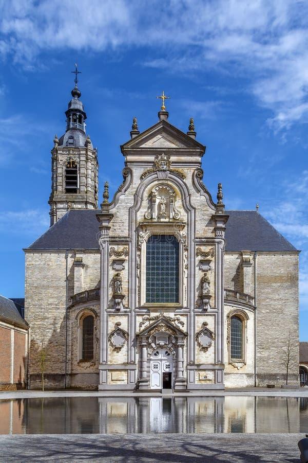 Averbode修道院,比利时 库存照片