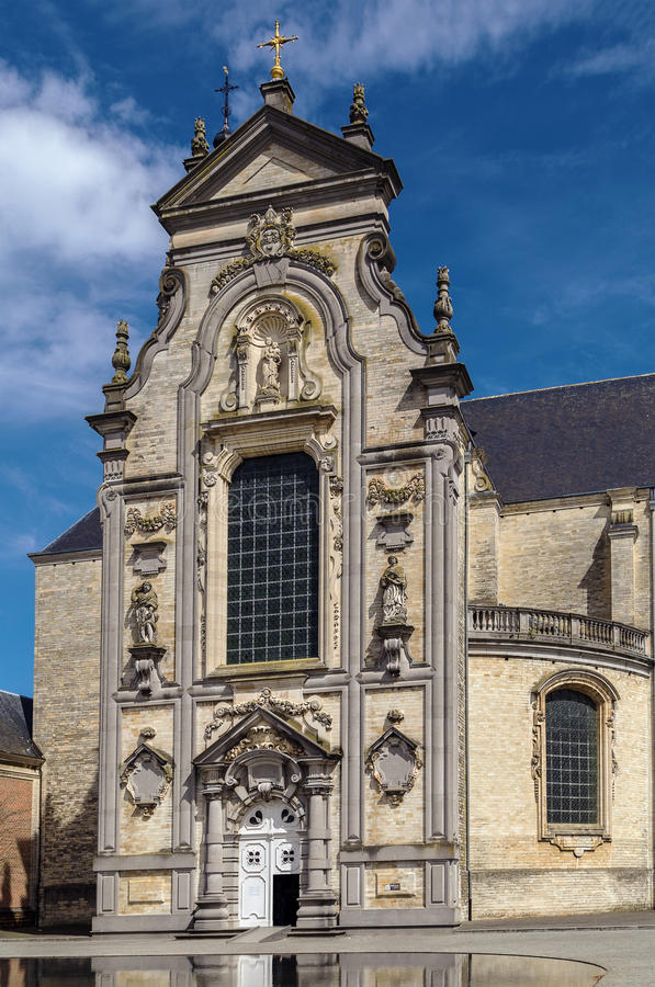 Averbode修道院,比利时 免版税图库摄影