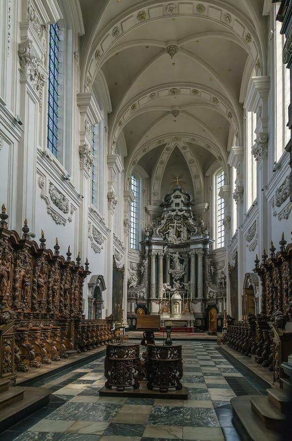 Averbode修道院,比利时 免版税库存图片