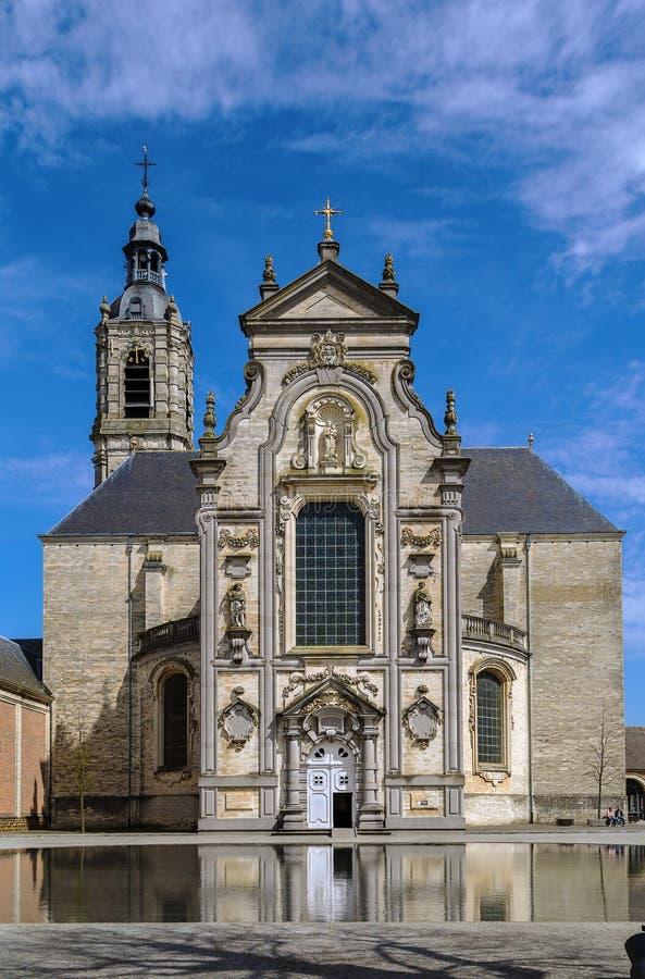 Averbode修道院,比利时 库存图片