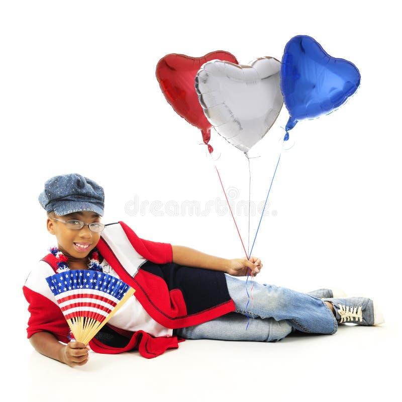 Avere cuore per U.S.A. immagine stock