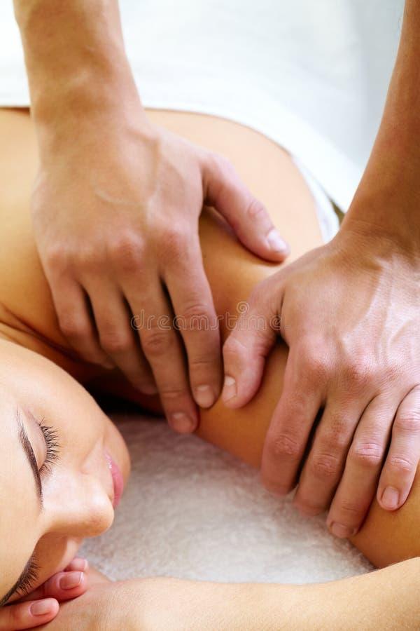 Avere massaggio immagini stock