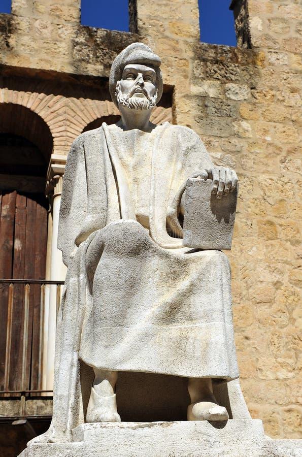 Averroes arabisk filosof av Cordoba, Spanien arkivfoto