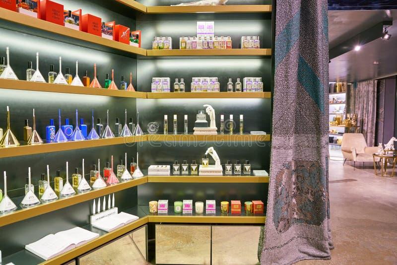 Avery Perfume Gallery fotografia stock libera da diritti