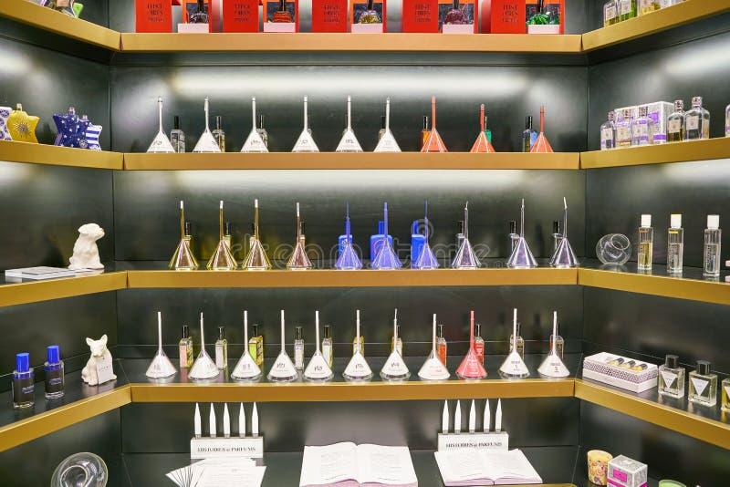 Avery Perfume Gallery fotografia stock