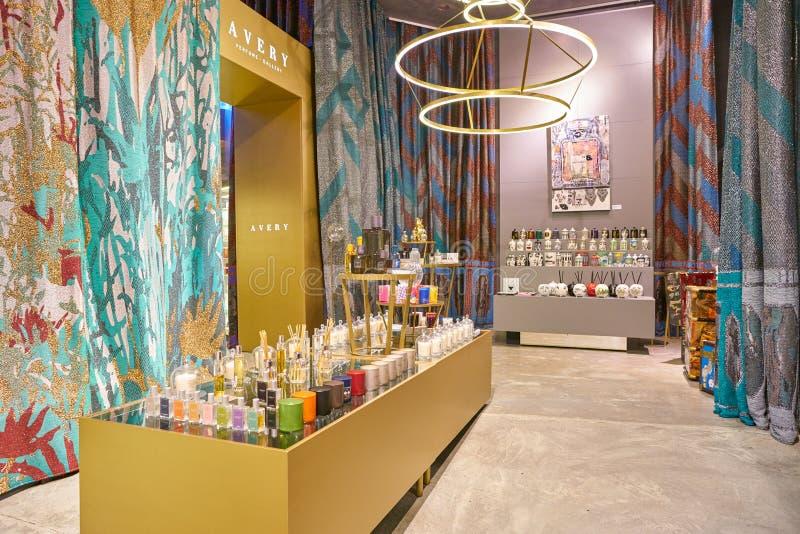 Avery Perfume Gallery fotografie stock libere da diritti