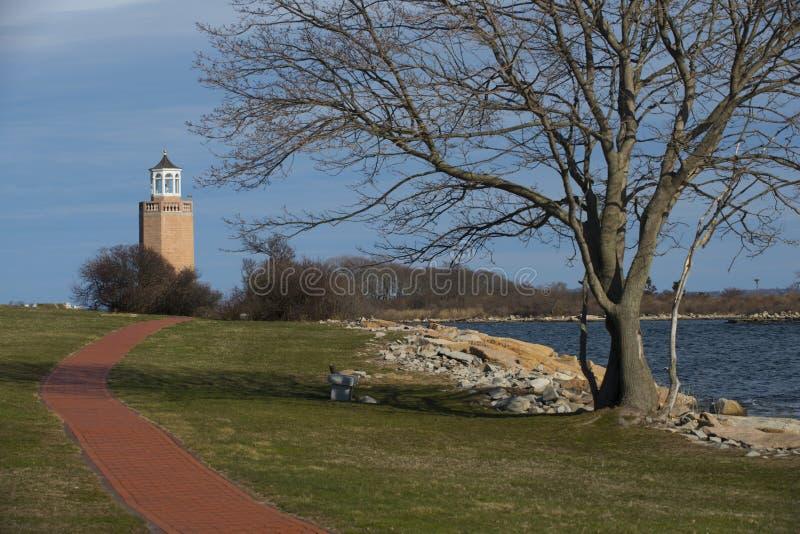 Avery Point Lighthouse stock photos
