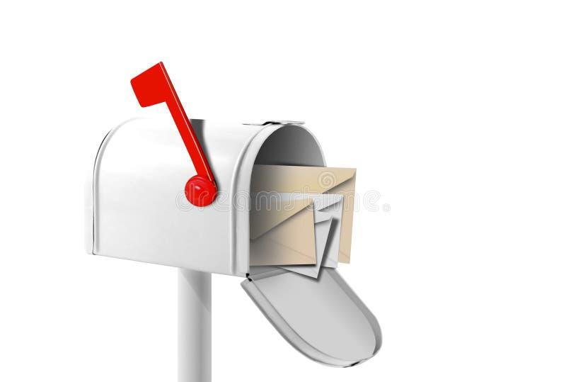 Avete ottenuto la posta royalty illustrazione gratis