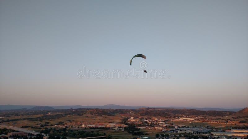 Avez-vous vu la vue d'haut ici ? photos stock