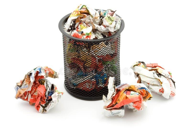 avfall arkivfoton
